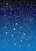 snowflake sky