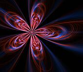 Fractal Blossom Abstract