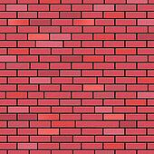 Brick Wall Indicates Blank Space And Background