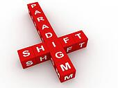 Paradigm shift crossword