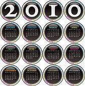 Calendar for year 2010.