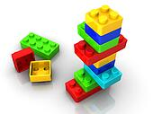 Logo toy blocks