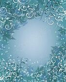 Christmas Background winter sparkle blue