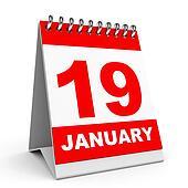 Calendar. 19 January.
