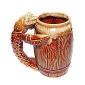 Cancer beer mug isolated