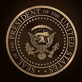 US Golden Presidential Seal.cdr