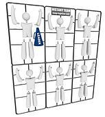 Instant Team - Snap Together Model Kit