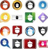Acorn Icon Set