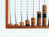 increase diagram on old abacus