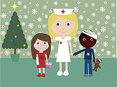 Christmas in hospital