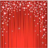Christmas stars and stripes