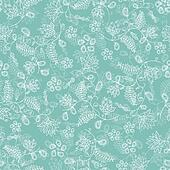 seamless flower blue background