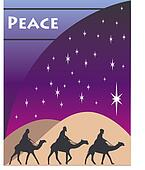 christmas wise men card