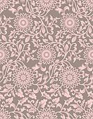 Seamless background from a floral ornament, Fashionable modern w