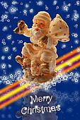Santa Claus Begins Christmas