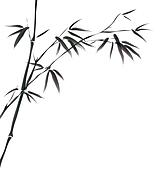 chinese painting of bamboo