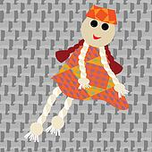 puppet little girl