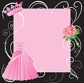 Sweet 16, La Quinceanera party invitation