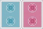 Cards back