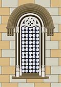 Gothic renaissance window