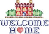 Welcome Home Embroidery