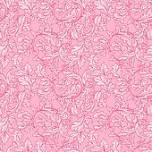 Baroque floral  pattern.