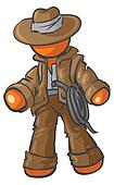 Design Mascot Adventurer