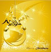 Christmas gold design background