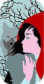 Red Riding Hood illustration