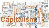 Capitalism management word cloud