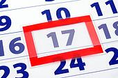 17 calendar day