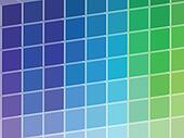 Cold Colored Squares Palette