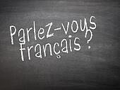Learning language - French