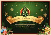 Classic Christmas card