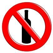 Prohibition ingestion bottles