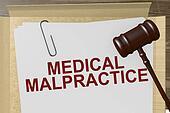 Medical Malpractice Concept