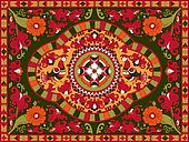 Russian traditional ornament