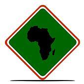 Africa sign