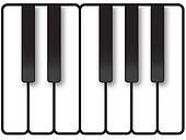 Piano Keys Illustration