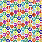 strange flowers pattern
