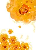 watercolor painting of flower