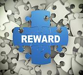3d puzzle pieces - reward
