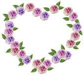 Valentine\'s heart flower