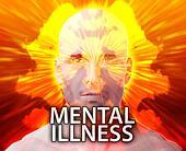 Male psychiatric mental illness
