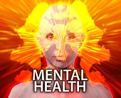Female mental health inkblot