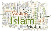 Islam word cloud