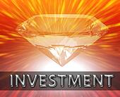 Weath savings investment concept