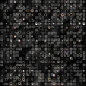 rusty metallic dots pattern
