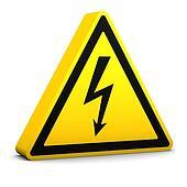 Electric Hazard Sign