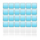 Blue optical illusion